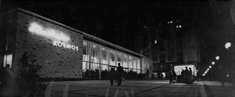 Kosmos Cinema in 1962
